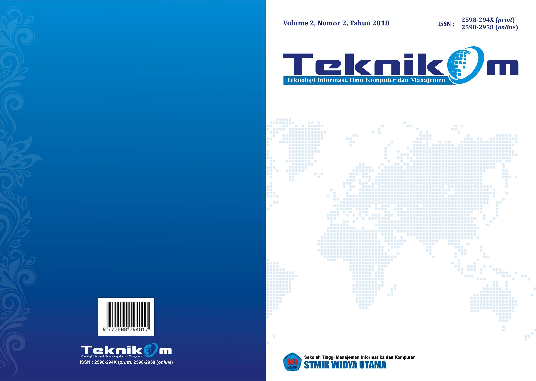Teknikom Vol 2 No 2 2018