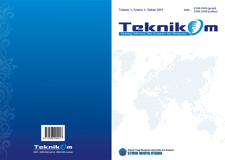 Teknikom Vol 3 No 1 2019